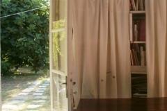IL COTTAGE - porta finestra per il giardino